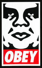 Obey Skateboard Sticker - Shepard Fairey Graffiti Street Art New