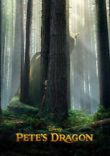Pete's Dragon DVD New Disney with Slipcover Free shipping