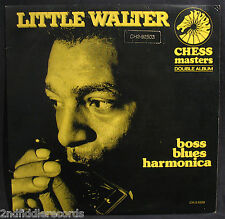 LITTLE WALTER-BOSS BLUES HARMONICA-Double Album-Vocal Blues-CHESS #CH-2-9209