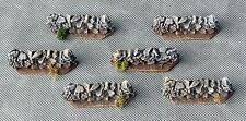 STONE LEDGES - 6 pieces - wargaming scenery - 15mm painted