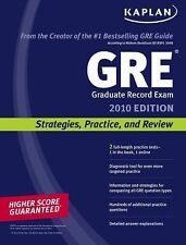 GRE Exam 2010 : Strategies, Practice, and Review (2009, Paperback)