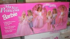 "1995 My Size Princess Barbie Doll 3' ""Wear & Share"" #13767-9993 New in Box RARE"