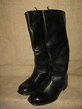 Soviet Army Officer's Thin Leather High Boots. SIZE 8