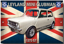 MINI CLUBMAN 1275GT METAL SIGN.CLASSIC BRITISH LEYLAND CARS.CLASSIC SMALL CARS.