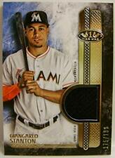 GIANGARLO STANTON RELIC T1R-GST 2016 TOPPS TIER ONE 175/199