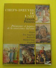 Précurseurs et peintres de la renaissance italienne  !! ( Art, Painture )