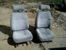 82-92 CHEVy CAMARO pontiac FIREBIRD TRANS AM BUCKET SEATS grey 350 455 454 z/28