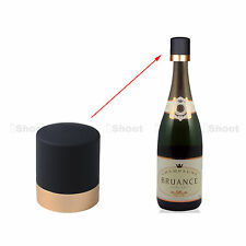 Champagne Cork Stopper Wine Bottle Saver with Stainless Steel Spring Lock Gold