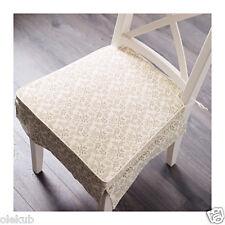 Ikea Elsebet Chair Pad Beige Indoor Outdoor Patio Kitchen Cushion 503.078.61