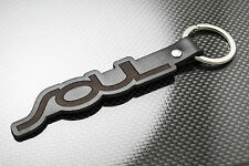 KIA SOUL Luxury Leather Keyring Schlüsselring Porte-clés CONNECT PLUS SPORT CRDi