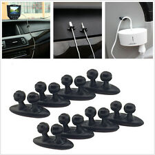 8 Pcs Cable Drop Clip Vehicles Tidy Organiser Wire Cord Charge Line Fixer Holder