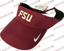 NEW Florida State Seminoles FSU Nike Dri-Fit Visor One Size Team Issued NCAA