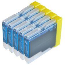 5x Tinte-Patronen DCP135C DCP150C DCP153C DCP157C MFC235C MFC260C LC1000 LC970 C