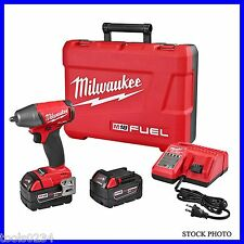 """New Milwaukee 2754-22 M18 Fuel 3/8"""" Impact Wrench XC Kit with Friction Ring"""