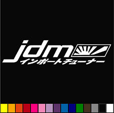 JDM Decal (set of 2) Honda Mitsubishi Toyota Car Window Bumper Sticker