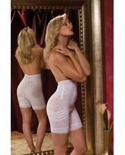 Rago Shapewear High Waist Long Leg Shaper White 3X/36