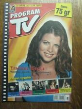 PROGRAM TV 32 (6/8/99) YASMINE BLEETH DIANA RIGG