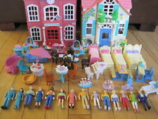 FISHER PRICE SWEET STREETS PEOPLE/FIGURES & FURNITURE BIG LOT 50 PC
