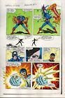 1983 Captain America Annual 7 page 28 Marvel Comics original color guide artwork