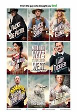A MILLION WAYS TO DIE IN THE WEST MOVIE POSTER 2 Sided ORIGINAL 27x40