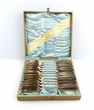 #e6037 12 Kuchengabeln WMF 2200 aus 800 (Ag) Silber modernes Barockbesteck