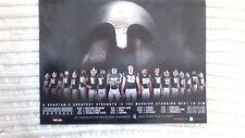 2013 Michigan State Spartans Rose Bowl Team Schedule Poster