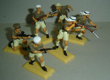 British SAS Troops ARGENTINA DSG Plastic Toy Soldiers set HAND PAINTED Britains