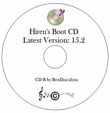 HIREN's Boot CD 15.2 test diagnosi riparazione ripristino Laptop PC Windows 7 8 XP Vista