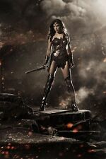 Wonder Woman movie poster - Gal Gadot poster - 11 x 17 inches