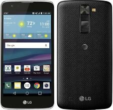 LG Phoenix 2 K371 4G LTE 16GB Black AT&T Prepaid No Contract Smartphone New