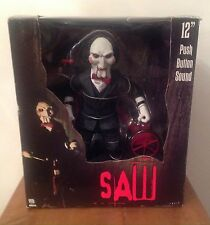 "RARE NECA 12"" pulsante suono Saw Billy in triciclo Action Figure"