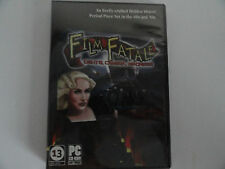 FILM FATALE Lights Camera Madness Hidden Object Game WINDOWS 10   8 7 Vista XP