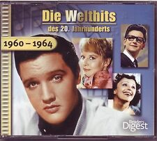 Die Welthits - 1960 - 1964   Reader's Digest  3 CD Box
