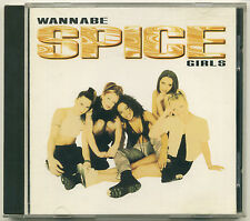 SPICE GIRLS Wannabe; 1996 CD Single Virgin Records