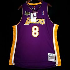 100% Authentic Kobe Bryant Mitchell Ness 2001 Finals Lakers NBA Jersey 48 XL