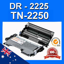 1x TN-2250 Toner + 1x DR2225 Drum unit for Brother MFC-7360N MFC-7362 MFC-7460DN