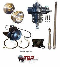 1966-1977 Early Ford Bronco COMPLETE Power Steering Conversion Kit