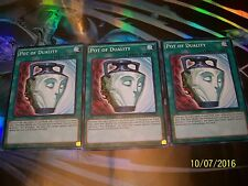 3x Pot of Duality 1st Edition Common LDK2-ENY34 Yu-Gi-Oh!