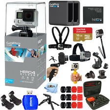 GoPro HERO4 Silver Edition 2 Battery + Dual Charger Everything you Need Bundle!!