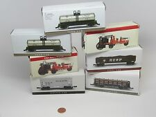 LOT 7 1999 Readers Digest 1914 Knox-Martin Fire truck+COAL&LOG&TANK HOPPER CAR