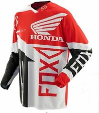 FOX 360 MOTOCROSS JERSEY Small NEW!  HONDA RED Motorcross MX ATV OFF ROAD