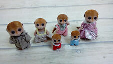 Sylvanian Families Meerkat Family of 6 - Including Babies