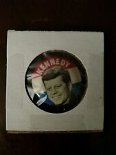 JOHN F. KENNEDY Campaign Original Pin Button Political President Election 1960