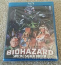 RARE OUT OF PRINT! Biohazard Blu Ray SIGNED by Fred Olen Ray Ltd Edition of 1000