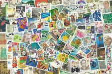 100 Different JAPAN COMMEMORATIVE STAMPS In Postally Used Condition