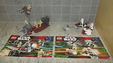 LEGO *Star Wars*  Droids Battle Pack  # 7654 & Clone Troopers Battle Pack # 7655