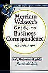 Merriam-Webster's Guide to Business Correspondence, Second Edition