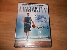 LINSANITY: The True Story of Jeremy Lin (DVD 2013) Christian Documentary NEW
