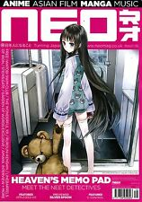 NEO #116 Autumn 2013 ANIME Asian Film MANGA Heaven's Memo Pad SILVER SPOON @New@