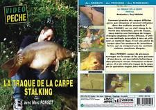 DVD La traque de la carpe stalking, Marc Ponsot - Pêche de la carpe - Vidéo Pêch